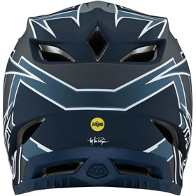 Troy Lee Designs D4 Composite Helmet, niebieski/szary